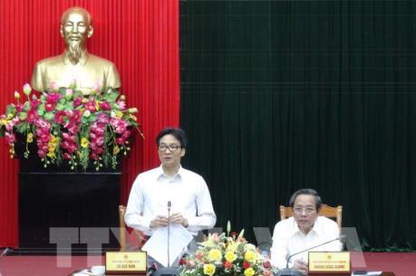 Phó Thủ tướng Vũ Đức Đam thăm và làm việc tại Quảng Bình về phát triển du lịch