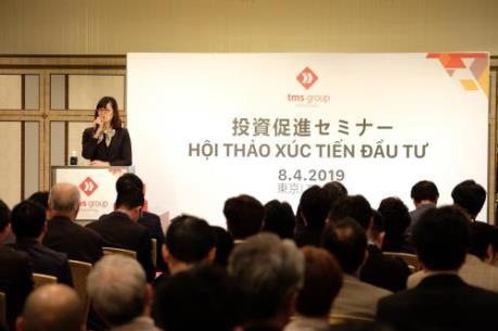 TMS Group muốn áp dụng công nghệ Nhật vào dự án tại Việt Nam