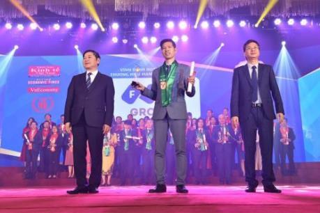 Tập đoàn FLC được vinh danh Top 10 Thương hiệu mạnh Việt Nam 2018