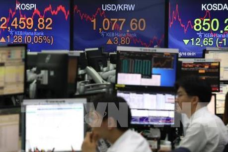 Chứng khoán châu Á tiếp nối đà giảm của Phố Wall trong phiên 25/6