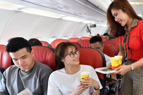 Vietjet Air chia tiếp 10% cổ tức bằng tiền mặt