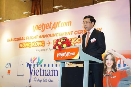 Vietjet khai trương đường bay thẳng Phú Quốc – Hongkong (Trung Quốc)