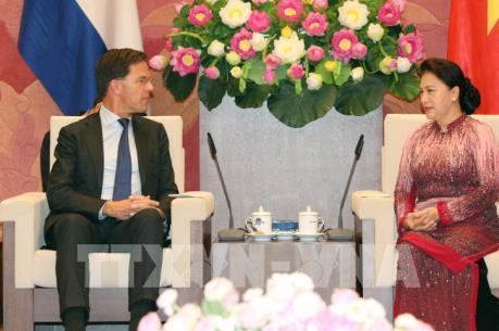 Chủ tịch Quốc hội Nguyễn Thị Kim Ngân hội kiến Thủ tướng Hà Lan