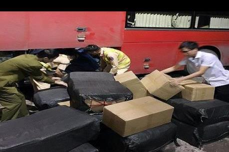 Quảng Ninh giữ hơn 1 tấn lòng lợn khô không rõ nguồn gốc