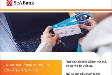 SeABank cung cấp giải pháp tài chính cho các đại lý vé máy bay