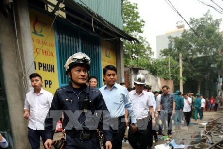 Phó Thủ tướng chỉ đạo điều tra vụ cháy tại Trung Văn, Hà Nội