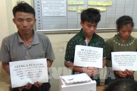 Bắt ba đối tượng tàng trữ 7.000 viên ma túy tổng hợp