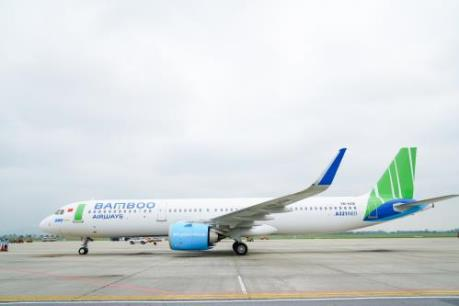 Bamboo Airways đón thêm máy bay Airbus A321NEO