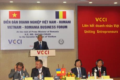 Tổng kim ngạch thương mại Việt Nam - Romania tăng mạnh