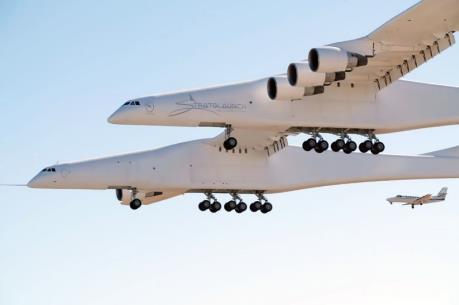 Chiếc máy bay lớn nhất thế giới đã có chuyến bay thử đầu tiên