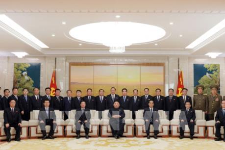 Mít tinh lớn mừng nhà lãnh đạo Kim Jong-un tái cử
