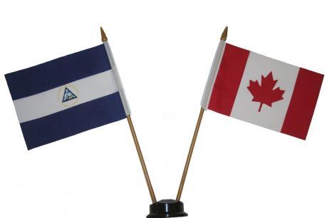 Canada ngừng viện trợ cho Nicaragua từ năm 2018