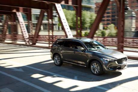 Việt Nam sẽ là thị trường đầu tiên ở Đông Nam Á ra mắt SUV Mazda CX-8
