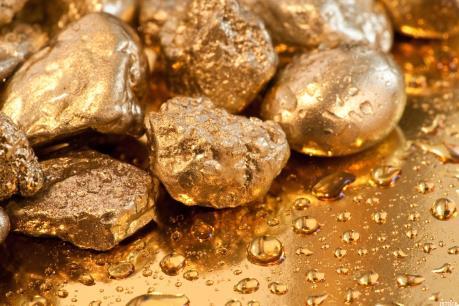 Giá vàng giảm xuống mức thấp trong hơn một tuần