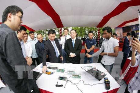 Khu Công nghệ cao Hòa Lạc mở rộng tiềm lực khoa học và công nghệ