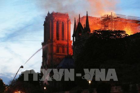 Thêm một tỷ phú cam kết hỗ trợ khôi phục Nhà thờ Đức Bà Paris