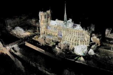 Công nghệ 3D và 360 độ trợ giúp phục dựng Nhà thờ Đức Bà Paris
