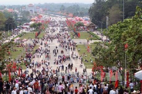 Lễ hội đền Hùng: Phú Thọ đón hơn 7 triệu lượt du khách