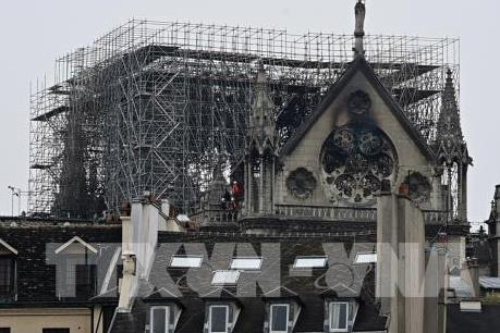 """Phát động chiến dịch """"Công trường """" phục dựng Nhà thờ Đức Bà Paris"""