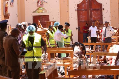 Công dân 5 nước là nạn nhân trong vụ nổ tại Sri Lakan