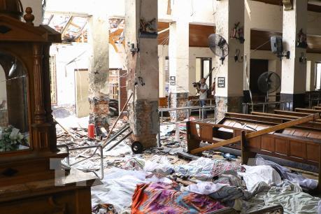 Bắt 7 nghi can vụ nổ ở Sri Lanka