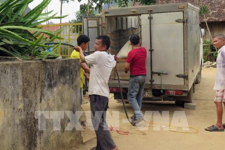 Hàng trăm hộ dân tái định cư lâm vào cảnh thiếu nước sinh hoạt