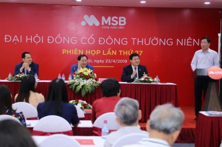 Đại hội cổ đông MSB 2019: Chốt kế hoạch niêm yết