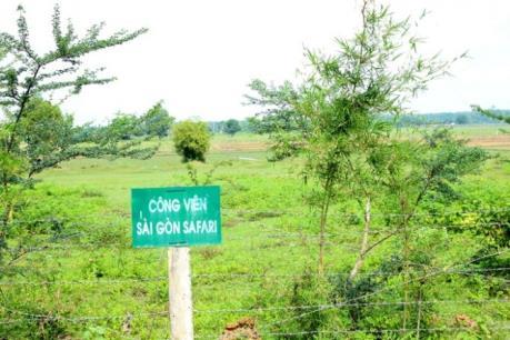 Mòn mỏi chờ đợi nền tái định cư dự án Công viên Sài Gòn Safari