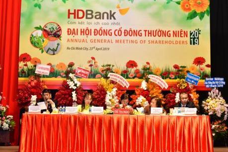 HDBank đặt mục tiêu lợi nhuận hơn 5.000 tỷ đồng trong năm 2019
