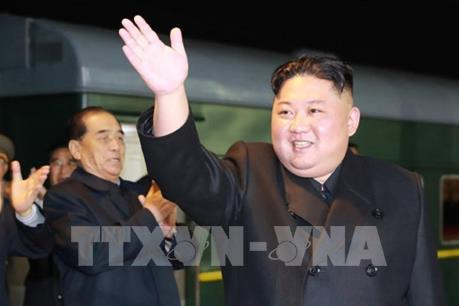 KCNA: Chuyến tàu của nhà lãnh đạo Kim Jong-un đã khởi hành tới Nga