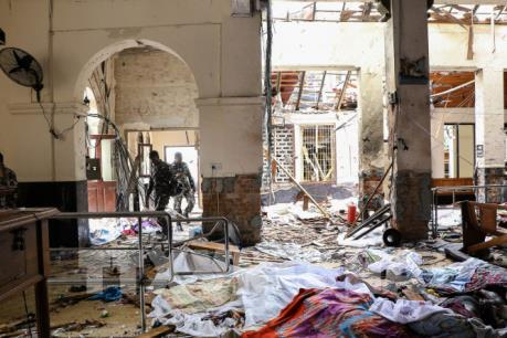 Đã bắt giữ hơn 100 người tình nghi liên quan tới vụ nổ ở Sri Lanka
