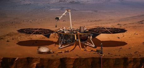 """Tàu InSight của NASA ghi nhận dấu hiệu """"động đất trên sao Hỏa"""""""