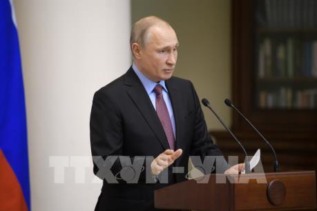 Tổng thống Putin đến địa điểm diễn ra Hội nghị thượng đỉnh Nga-Triều