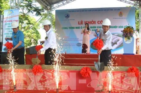 Đà Nẵng khởi công nhà ở công nhân Khu công nghiệp Hòa Cầm