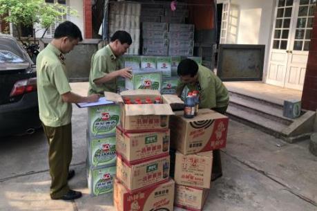 QLTT Lạng Sơn phát hiện nhiều mặt hàng không có hóa đơn chứng từ