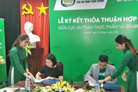 Grab và VFA ký thỏa thuận hợp tác về an toàn thực phẩm
