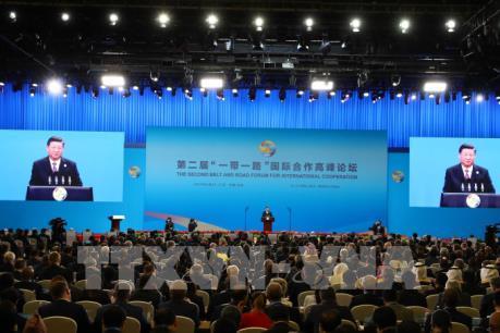 """Khai mạc Diễn đàn hợp tác quốc tế """"Vành đai và Con đường"""" tại Trung Quốc"""
