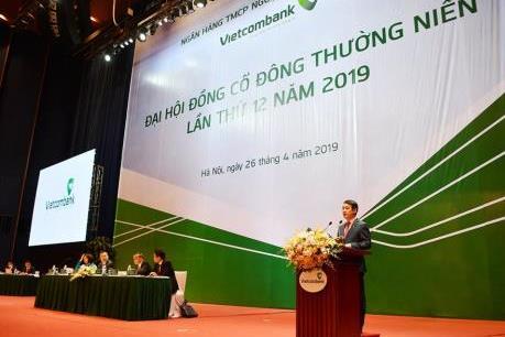 Đại hội cổ đông Vietcombank 2019: Lợi nhuận 20.000 tỷ