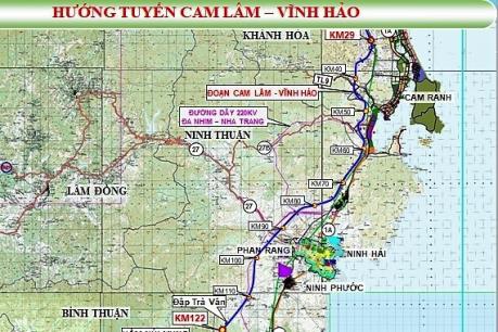 Cao tốc Cam Lâm - Vĩnh Hảo lựa chọn xong tư vấn khảo sát