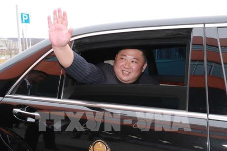 Chủ tịch Kim Jong-un đã về nước sau Hội nghị thượng đỉnh Nga-Triều