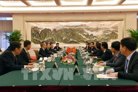 Thứ trưởng Bộ Công an Việt Nam và Trung Quốc hội đàm