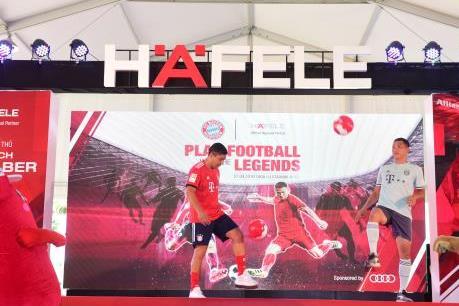 Audi Việt Nam tiếp tục là nhà tài trợ vận chuyển chính cho FC Bayern Legends