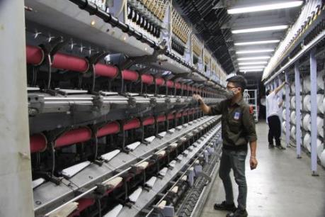 Nhà máy xơ sợi Đình Vũ đưa ra thị trường gần 2.000 tấn sợi DTY