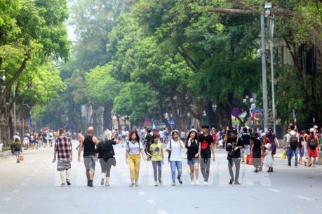 Hà Nội đón trên 440 nghìn khách du lịch dịp nghỉ lễ
