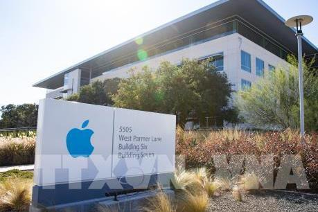 Giá cổ phiếu của Apple tăng gần 5%