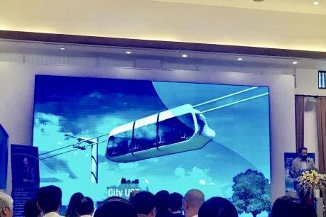 Công nghệ vận tải đường ray dây trên cao sẽ cứu cánh cho giao thông đô thị?