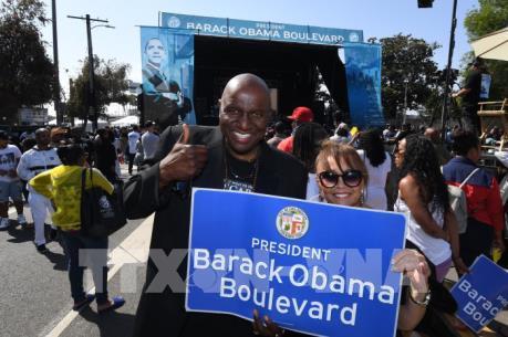 Một đại lộ Mỹ được đặt theo tên của Tổng thống Obama