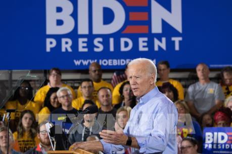 Cựu Phó Tổng thống Mỹ Joe Biden tiếp tục dẫn đầu thăm dò dư luận của đảng Dân chủ