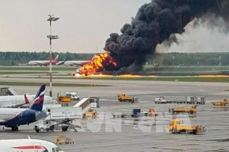 Cháy máy bay tại Nga: 3 yếu tố có thể gây tai nạn