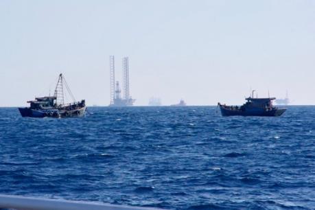 Hàng chục tàu cá vi phạm hành lang đường ống dẫn khí dưới biển